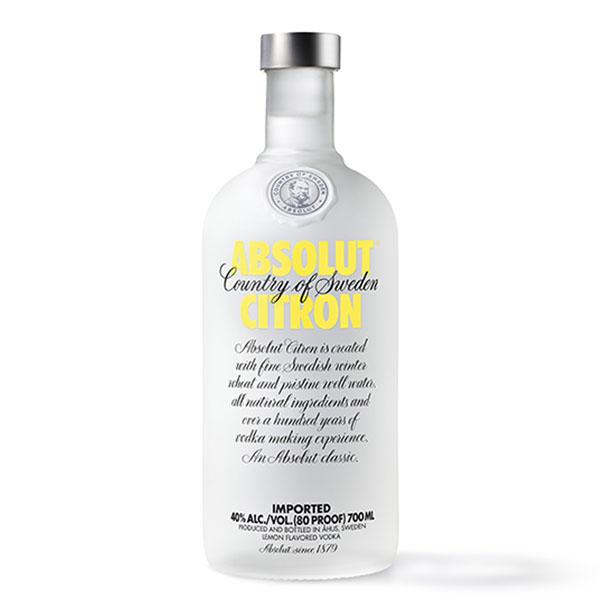 Absolut Vodka Citron 0.7 L