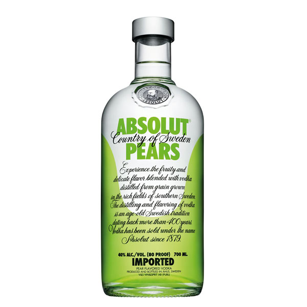 Absolut Vodka Pears 0.7 L