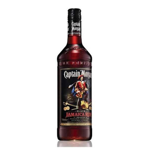 Captain Morgan Black Rum 0.7 L