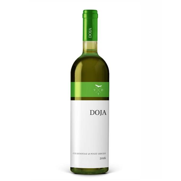 Doja Chardonnay & Pinot Grigio 0.75 L Vinarija Doja