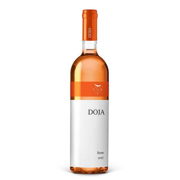 Doja Roze Vino 0.75 L Vinarija Doja