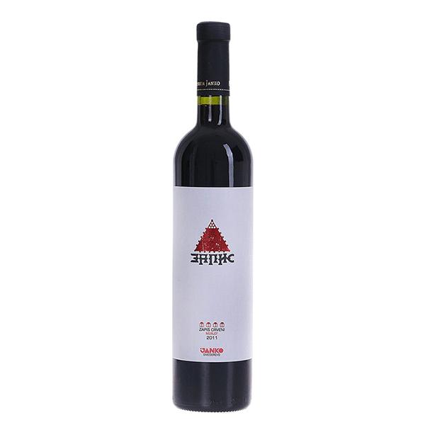 Janko Zapis Crveni 0.75 L Podrum Janko