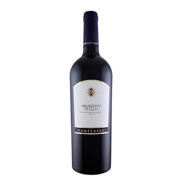 Primitivo Rosso 0.75 L Monteverdi