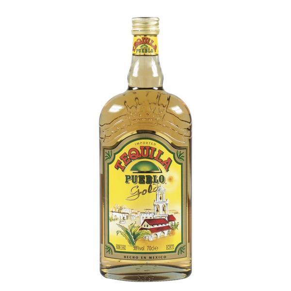 Pueblo Tequila Gold 0.7 L