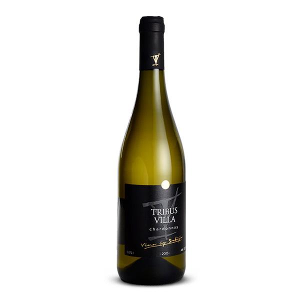 Toplički Vinogradi Tribus Villa Chardonnay 2015 0.75 L
