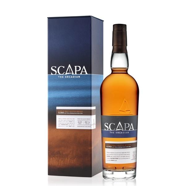 Scapa Glansa – Scotch Whisky 0,7l
