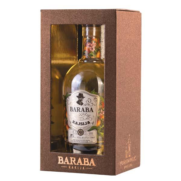 Baraba Kajsija Lux Kutija 0,7l