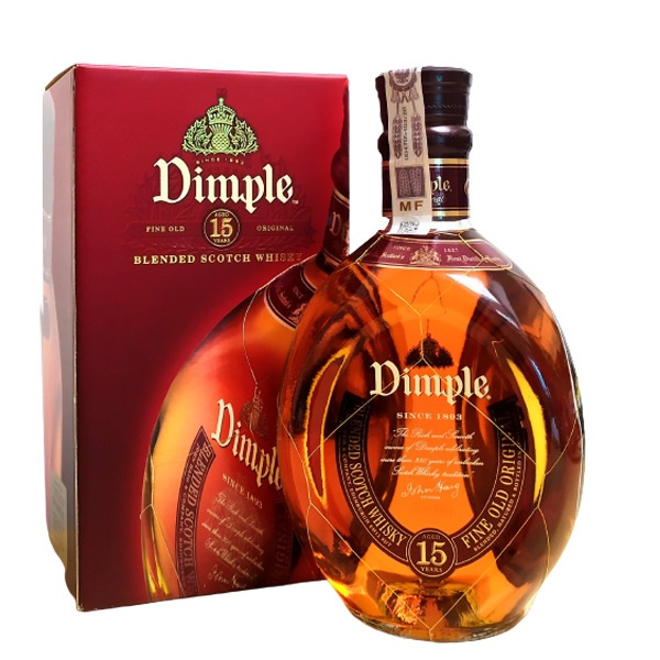 Dimple Whisky 15 YO 0,7L